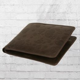 Merc Walsh Wallet Geldbörse Portemonnaie dark brown