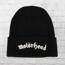 Merchcode Mütze Motörhead Beanie schwarz