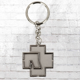 Merchcode Schlüsselanhänger Rammstein Logo silber