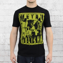Metal Mulisha Herren T-Shirt Punk Is Dead schwarz
