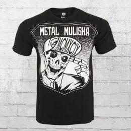 Metal Mulisha Herren T-Shirt Seek schwarz