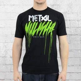 Metal Mulisha T-Shirt Herren Brush Drip schwarz
