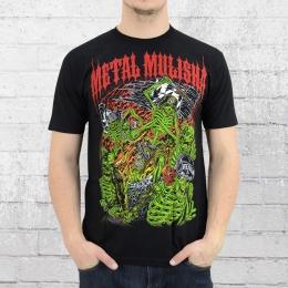 Metal Mulisha T-Shirt Herren Riot schwarz