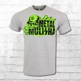 Metal Mulisha T-Shirt Männer Dead Zone grau meliert