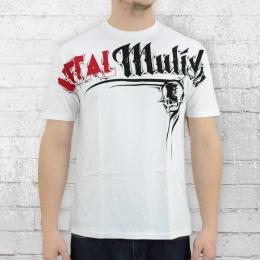 Metal Mulisha T-Shirt Männer Locked weiss