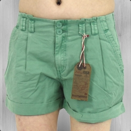Fuga Frauen Chino Shorts Miami ice green