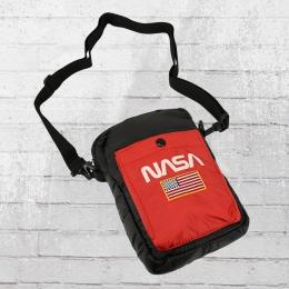 Mister Tee Nasa Festival Crossbody Bag Männer Handtasche schwarz