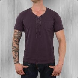 Jet Lag Kurzarm Shirt Herren M 102 midnight purple