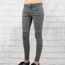 Monday Afternoon Damen Stretch Jeans Hose grau