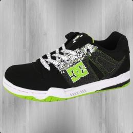 DC Shoes Kinderschuh Ken Block Mongrel black white soft lime