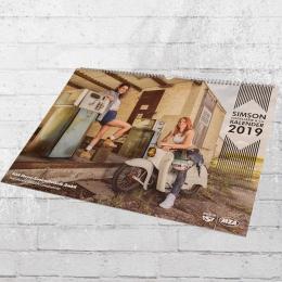 MZA Offizieller Simson Kalender Vogelserie 2019