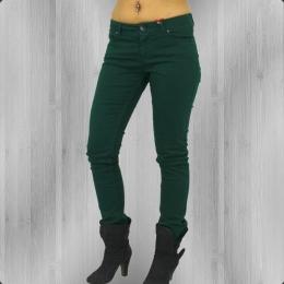 Fuga Frauen Jeanshose Felix Slim Röhrenjeans N 1000 green
