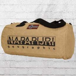 Napapijri Kleine Sport Tasche Bering Bag khaki beige