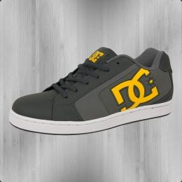 DC Shoes Männer Schuhe Net grau gelb