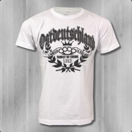 La Vida Loca T-Shirt Herren Ostdeutschland faded white