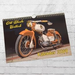 Ostblech United Oldtimer und Moped Kalender 2019