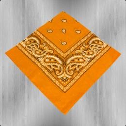 Bandana Paisley Tuch Nickituch gold