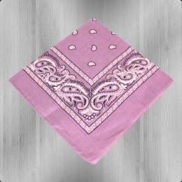 Bandana Paisley Tuch Nickituch lila