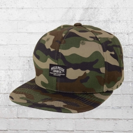 Pelle Pelle Core Label Snapback Cap camouflage