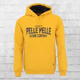 Pelle Pelle Herren Kapuzen Sweater Freshman gelb