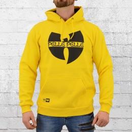 Pelle Pelle Herren Kapuzensweater Wu Tang gelb