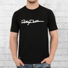 Pelle Pelle Herren Signature T-Shirt schwarz