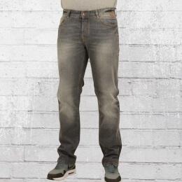 Pelle Pelle Männer Jeanshose Floyd grau