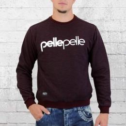Pelle Pelle Männer Sweater Back To Basics burgundy