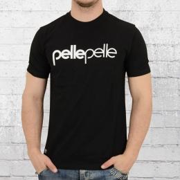 Pelle Pelle Männer T-Shirt Back 2 The Basics schwarz