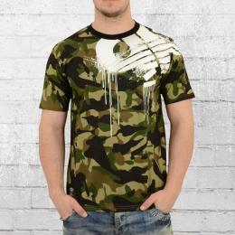 Pelle Pelle Männer T-Shirt Demolition camouflage