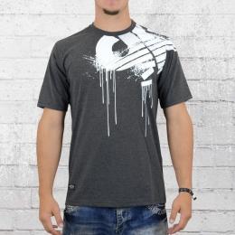 Pelle Pelle Männer T-Shirt Demolition dunkelgrau