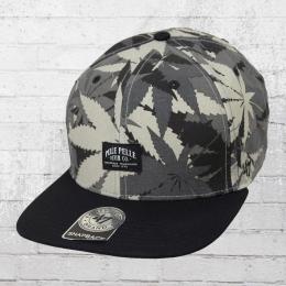 Pelle Pelle OG Kush Snapback Cap Kappe grau schwarz