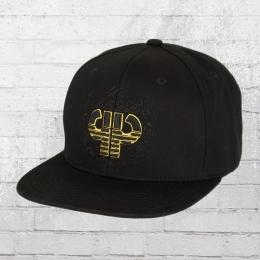 Pelle Pelle Snapback Cap Anniversary Kappe schwarz gold
