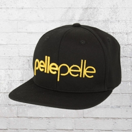 Pelle Pelle Snapback Cap Recognize schwarz