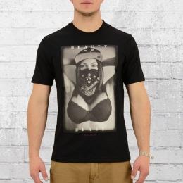 Pelle Pelle T-Shirt Herren Beauty VS Beast schwarz