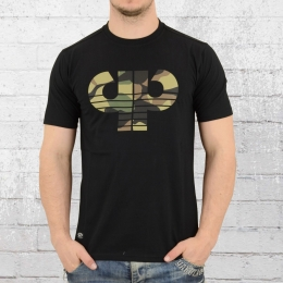 Pelle Pelle T-Shirt Herren Camo Icon schwarz