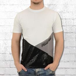 Pelle Pelle T-Shirt Sayagata Pointer weiss schwarz