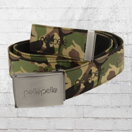 Pelle Pelle Unisex Core Army Fabric Belt camouflage