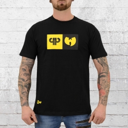 Pelle Pelle Wu Tang T-Shirt Herren Best Of Both Worlds schwarz
