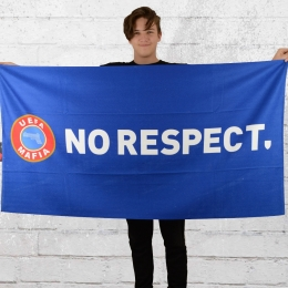 PG Wear Bade Handtuch No Respect Strandtuch blau