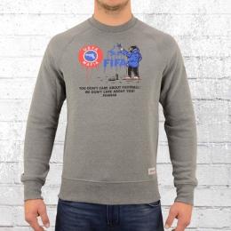 PG Wear Herren Sweater We Dont Care grau melange