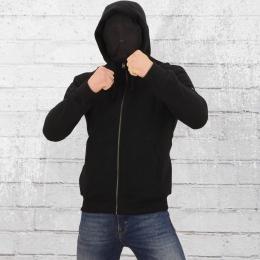 PG Wear Männer Kapuzenjacke Mask Hoodie Fanatic schwarz