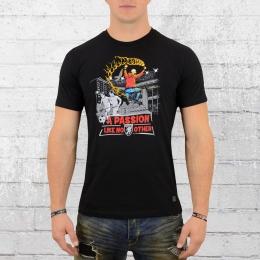 PG Wear Männer T-Shirt Passion schwarz
