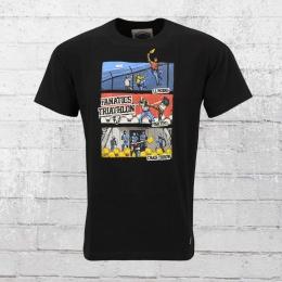 PG Wear Mens T-Shirt Triathlon black