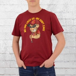 PG Wear No One Like Us T-Shirt weinrot