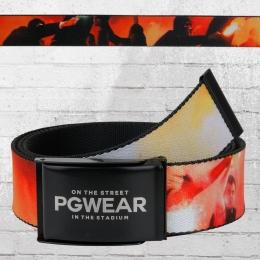 PG Wear Stoff Gürtel Blaze Ultras bunt