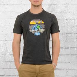 PG Wear T-Shirt Herren Always on Tour dunkelgrau