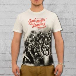 PG Wear T-Shirt Männer Fanatics weiss