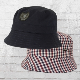 PG Wear Wende Angler Hut Bucket Hat Globetrotter blau