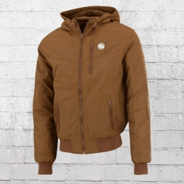 Pit Bull Male Jacket Cabrillo brown